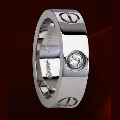 哪里回收卡地亚铂金戒指?