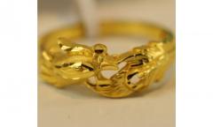 在福州与18K黄金相比千足黄金保值回收怎么样?