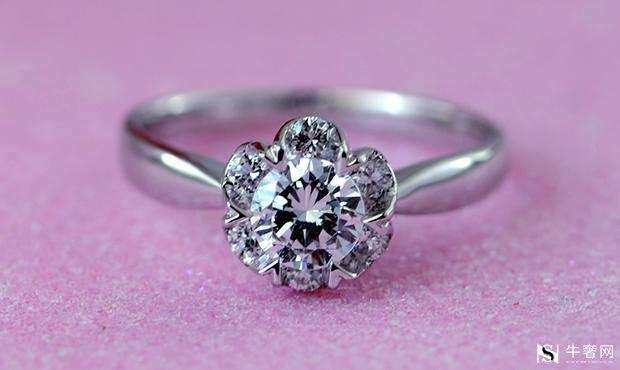 周大福18k金钻石戒指怎么回收?