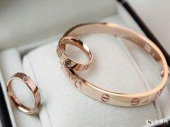 卡地亚18k玫瑰金手链回收价格怎么样?