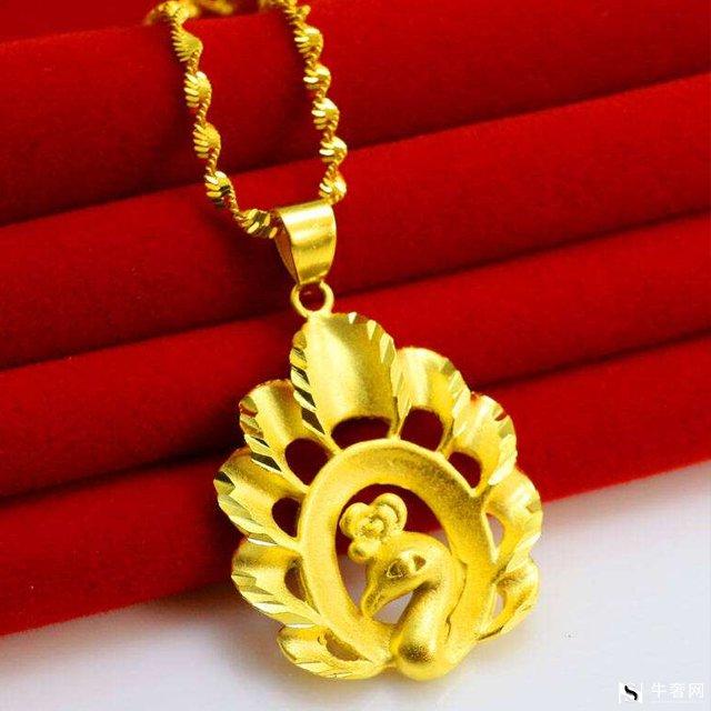 黄金回收如何保养和清洁金吊坠和金项链?